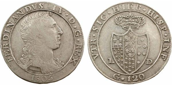 120 Grana Italian city-states 銀