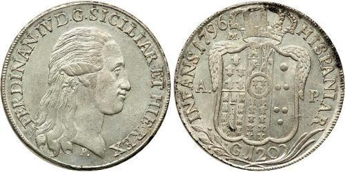 120 Grana Italie / Italian city-states Argent