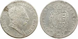 120 Grana Italian city-states Silber Ferdinand I of the Two Sicilies (1751 - 1825)
