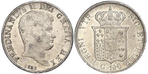 120 Grana / 1 Скудо Italian city-states Серебро