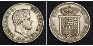 120 Grana / 1 Скудо Italian city-states Срібло