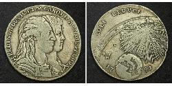 120 Grana / 1 Piastre Italian city-states 銀