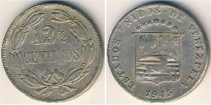 12.5 Centimo Venezuela Kupfer/Nickel