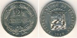 12.5 Centimo Venezuela Níquel/Cobre