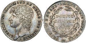 12 Carlin / 1 Piastre Italy / Italian city-states Silver