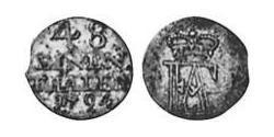 148 Thaler Anhalt-Bernburg (1603 - 1863) Billon