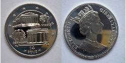 14 Ecu Gibraltar  伊丽莎白二世 (1926-)