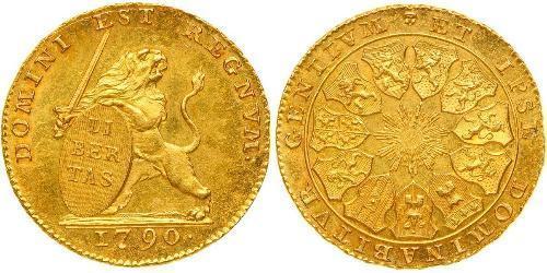 14 Florin Bélgica Oro