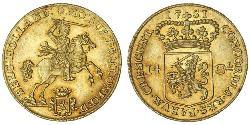14 Gulden Dutch Republic (1581 - 1795) Gold