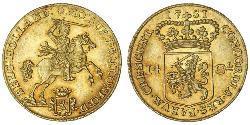 14 Gulden Republik der Sieben Vereinigten Provinzen (1581 - 1795) Gold