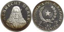 150 Guaraní Paraguay (1811 - ) Silber