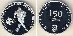 150 Kuna Croatia Silver