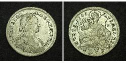 15 Крейцер Королiвство Угорщина (1000-1918) Срібло Maria Theresa of Austria (1717 - 1780)