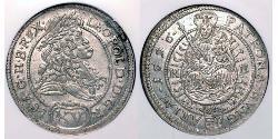 15 Kreuzer Kingdom of Hungary (1000-1918) Billon