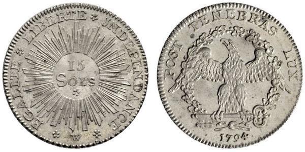 15 Sol Switzerland Silver