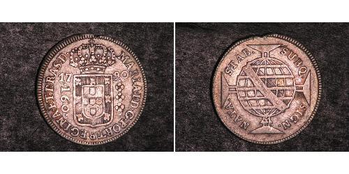 160 Reis Brasilien Silber