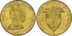 16 Peso República de la Nueva Granada (1831–1858) Oro