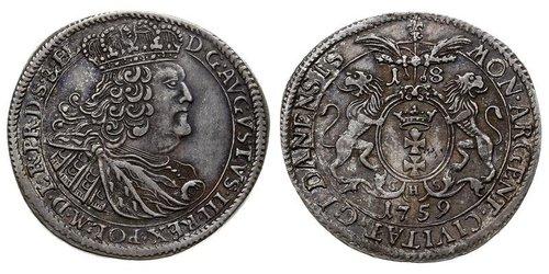 18 Грош Данциг/Гданьск  (1454-1793) Серебро