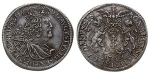 18 Grosh Danzica (1454-1793) Argento