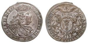 18 Grosh Gdansk (1454-1793) Plata