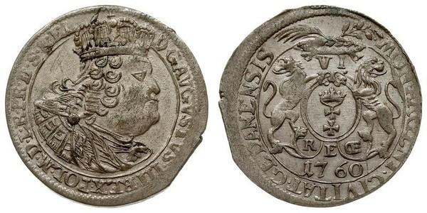 18 Grosh Gdansk  (1454-1793) Silver