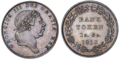 18 Penny Royaume-Uni de Grande-Bretagne et d