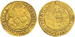 1 Ангел Королевство Англия (927-1649,1660-1707) Золото Генрих VIII (1491 - 1547)