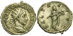 1 Антониниан Римская империя (27BC-395) Серебро Волузиан (235-253)