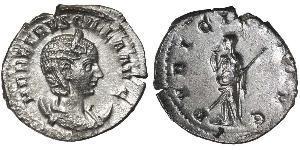 1 Антониниан Римская империя (27BC-395) Серебро Herennia Etruscilla (249-251)