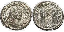 1 Антонініан Римська імперія (27BC-395) Бронза Галерій Максиміан (260-311)