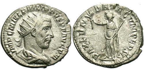 1 Антонініан Римська імперія (27BC-395) Срібло Філіпп Араб (204-249)