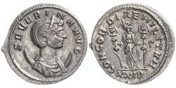1 Антонініан Римська імперія (27BC-395)  Ulpia Severina (?-?)