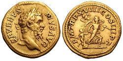 1 Ауреус Римская империя (27BC-395) Золото Септимий Север (145- 211)