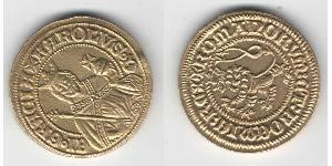 1 Гульден Богемия Золото Карл IV император Св. Римской империи (1316-1378)