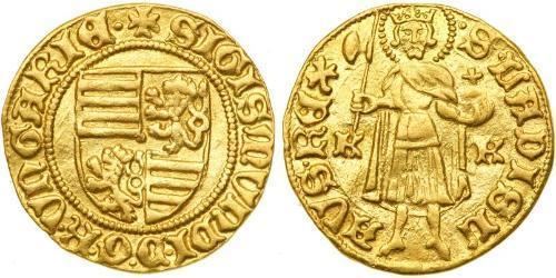 1 Гульден Королевство Венгрия (1000-1918) Золото Sigismund, Holy Roman Emperor (1368 -1437)