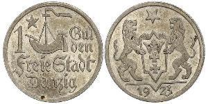 1 Гульден Gdansk (1920-1939) Срібло