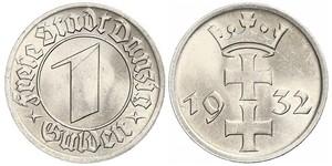 1 Гульден Gdansk (1920-1939)