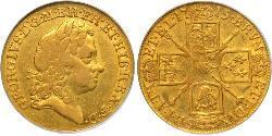 1 Гінея Королівство Великобританія (1707-1801) Золото Георг I (1660-1727)