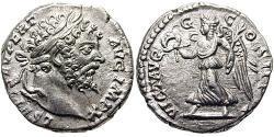 1 Денарий Римская империя (27BC-395) Серебро Септимий Север (145- 211)
