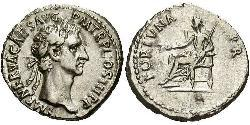 1 Денарій Римська імперія (27BC-395) Срібло Нерва (30- 98)