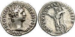 1 Денарій Римська імперія (27BC-395) Срібло Доміціан (51-96)
