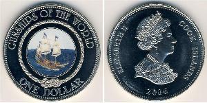 1 Долар Острова Кука Нікель/Мідь Єлизавета II (1926-)