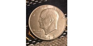 1 Долар США (1776 - ) Нікель/Мідь Дуайт Девід  Ейзенхауер (1890-1969)