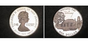 1 Долар Нова Зеландія Срібло Єлизавета II (1926-)