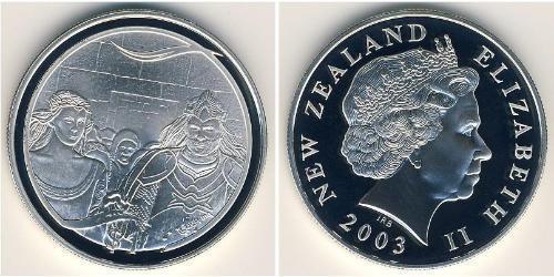 1 Долар Нова Зеландія Срібло