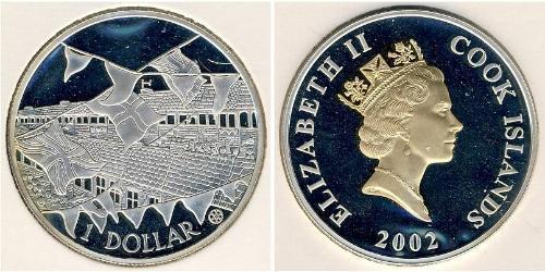 1 Долар Острова Кука Срібло Єлизавета II (1926-)