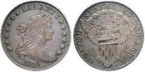 1 Долар США (1776 - ) Срібло Anne Willing Bingham (1764-1801)