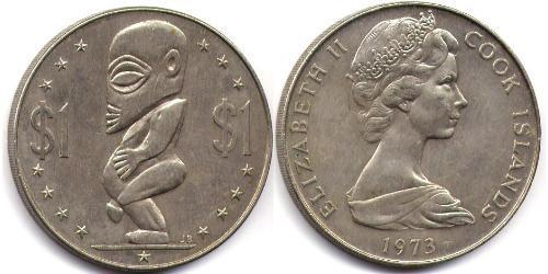 1 Долар Острова Кука