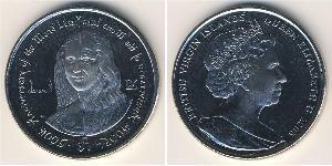 1 Доллар Виргинские о-ва Никель/Медь Елизавета II (1926-)
