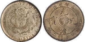 1 Доллар Китайская Народная Республика Серебро